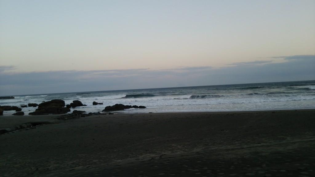 沖レギュ&左側のレフトも形の良い波がきてたよ
