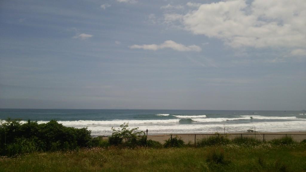 午後から晴れて 一瞬グッドコンディションになったけど~2時頃から南風が強くなってイマイチでした☆